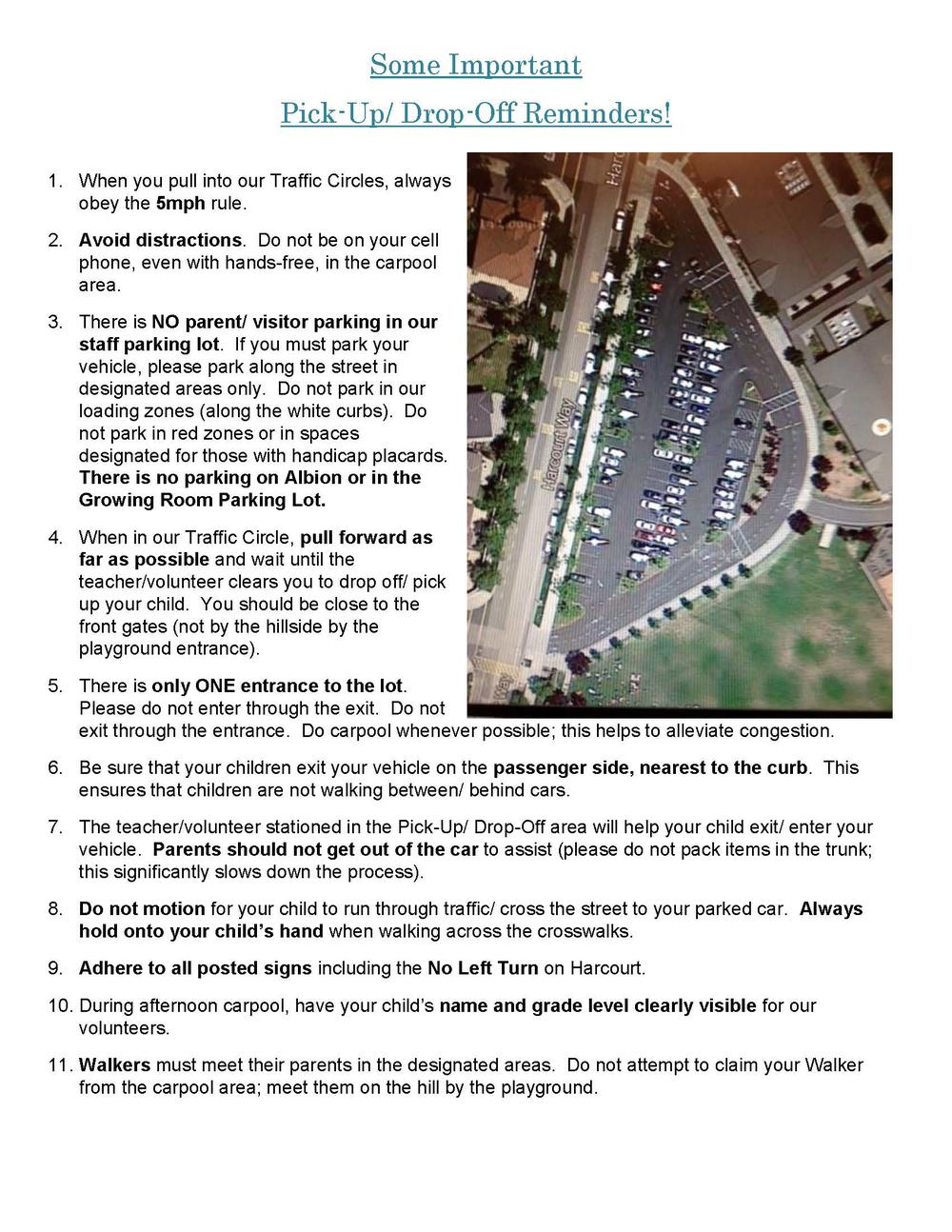 Parking Safety Guidelines w pictures Page 1